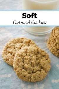 Pinnable image 3 for oatmeal cookies