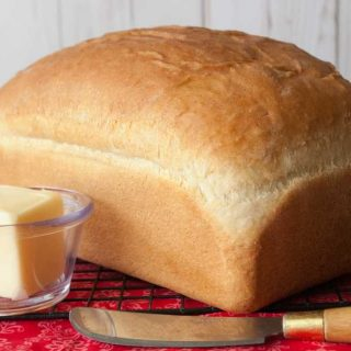 Facebook image white bread loaf.