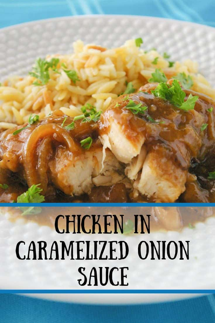 Chicken in Caramelized Onion Sauce pin3