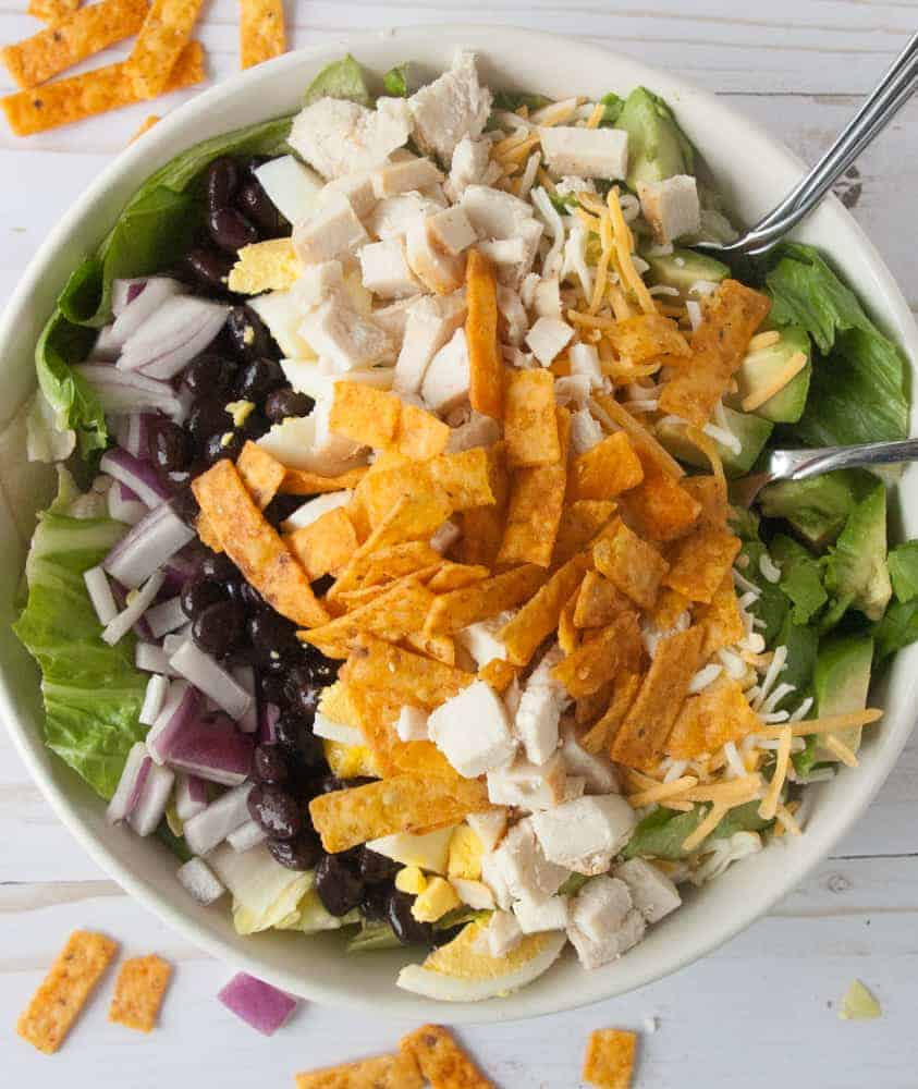Southern BBQ Chicken Salad