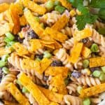 Barbecue Ranch Pasta Salad facebook image.