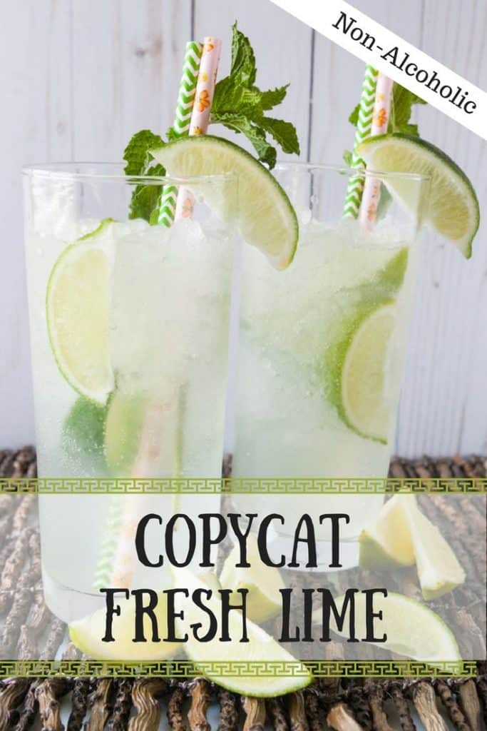 Copycat Fresh LIme Soda pinnable image.