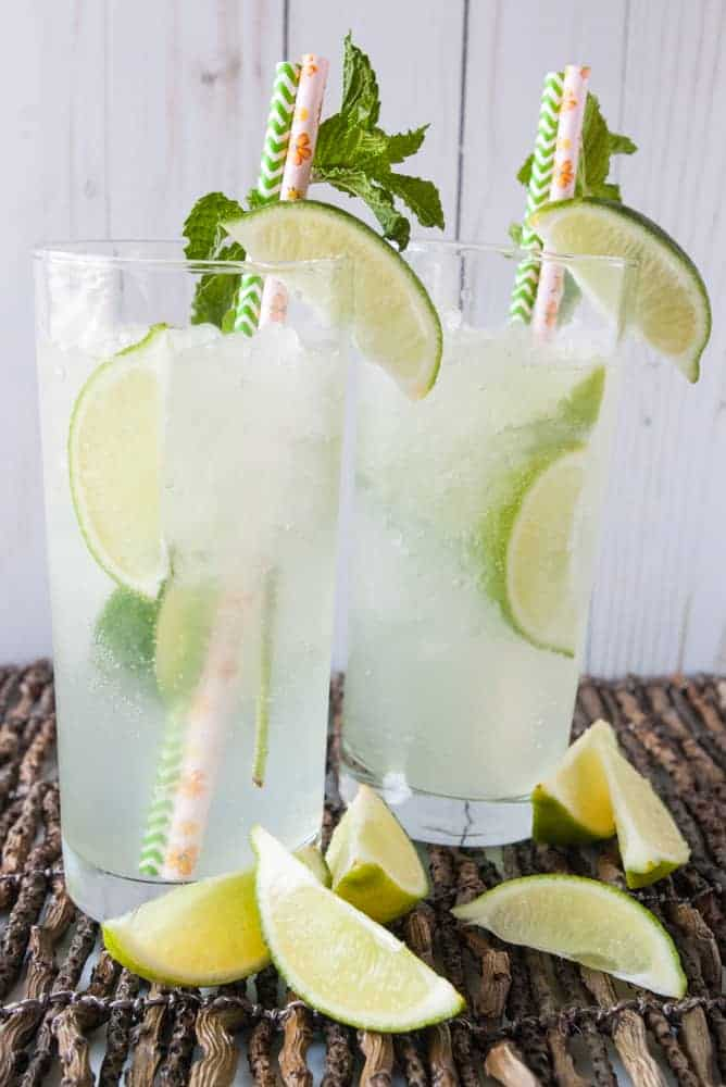 Copycat Fresh Lime Soda