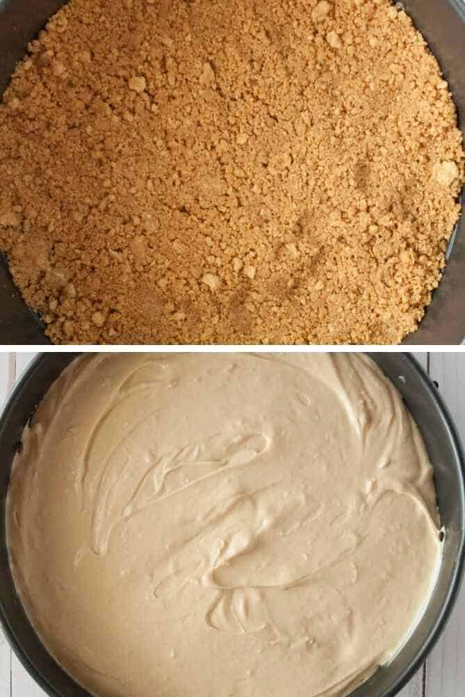 Steps to make this cheesecake