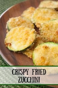 Pinnable image 3 for crispy fried zucchini.
