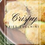 Pinnable image 4 for crispy fried zucchini.