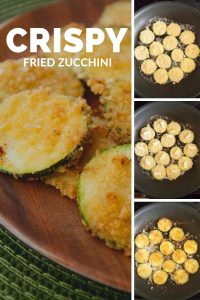 Pinnable image 5 for crispy fried zucchini.