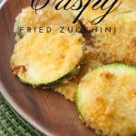 Pinnable image 6 for crispy fried zucchini.
