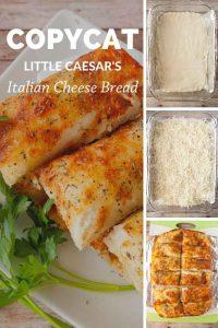 Pinnable image 4 for italian cheese bread.