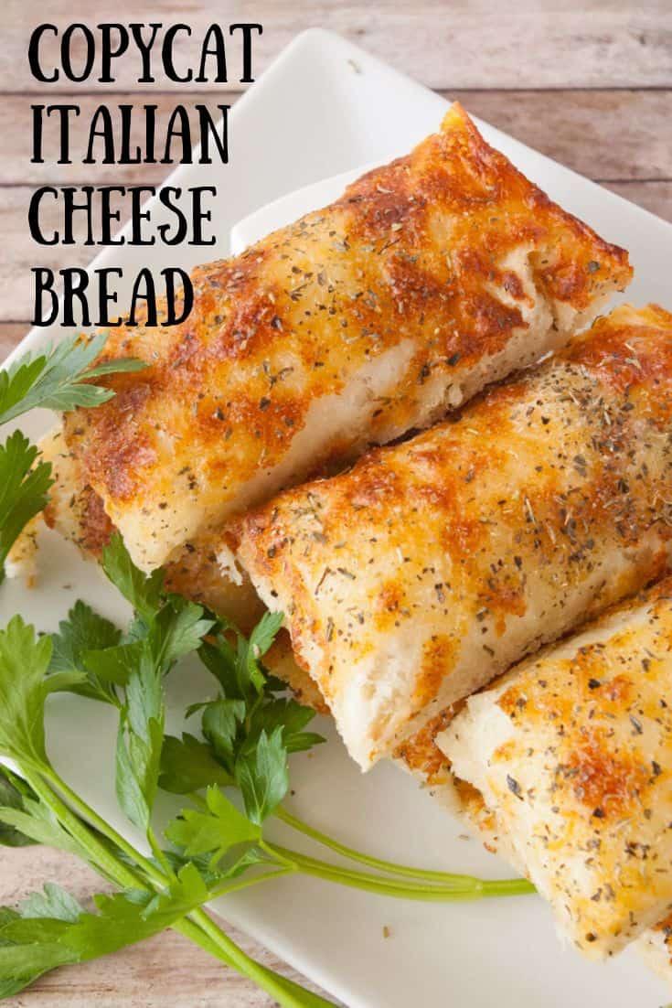 Italian Cheese Bread pinnable image 3.