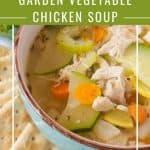 Pinnable image 2 for garden veg soup