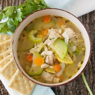 Facebook image 1 for garden veg chicken soup.