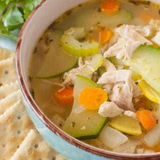 Garden Vegetable Chicken Soup