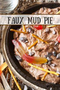 Faux Mud Pie pinnable image.