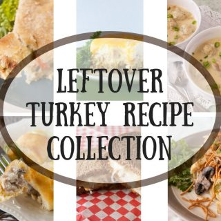 Leftover Turkey Recipe Collection facebook image.