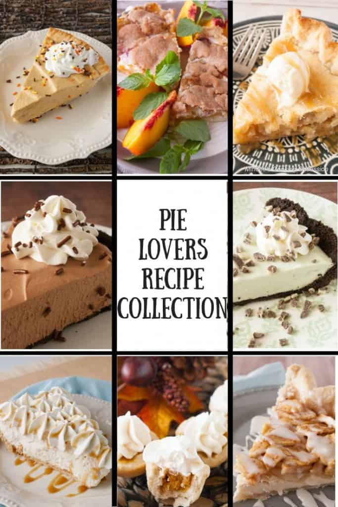 Collage of assorted Pies
