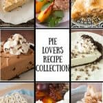Pie Lovers Recipe Collection pinnable image.