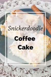 Pinnable image 5 for snickerdoodle coffee cake.