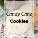Pinnable image 5 for candy cane cookies.