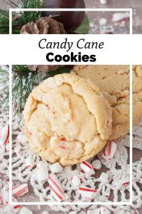 Pinnable image 6 for candy cane cookies.