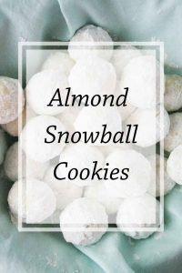 Pinnable image 5 for snowball cookies.