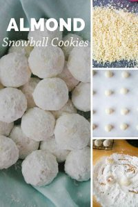 Pinnable image 4 for snowball cookies.