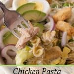 Pinnable image 1 for caesar salad