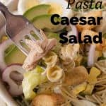 Pinnable image 4 for caesar salad.