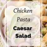 Pinnable image 6 for caesar salad.