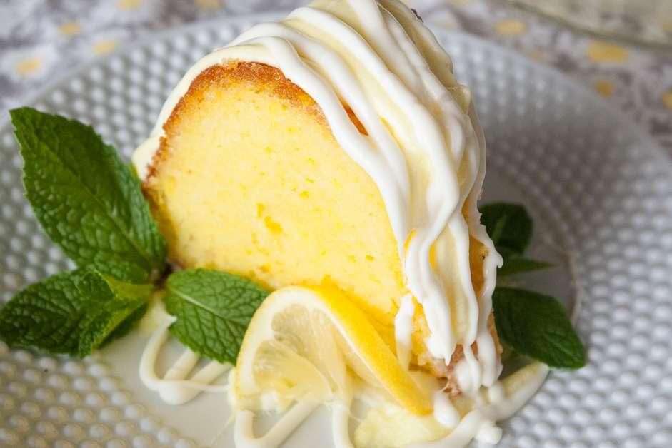 Easy Lemon Bundt Cake Mindee S Cooking Obsession