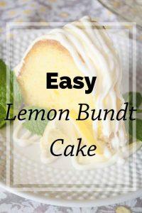 Pinnable image 4 for lemon bundt cake.
