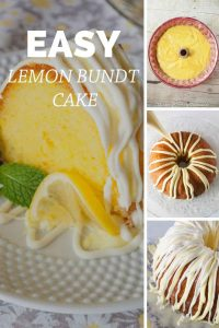 Pinnable image 5 for lemon bundt cake