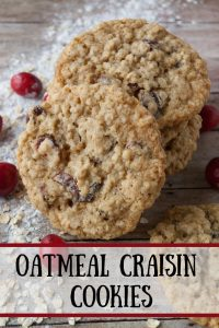 Oatmeal Craisin pinnable image.