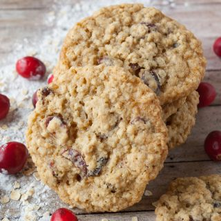 Oatmeal Craisin Cookie facebook image.