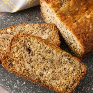 One Bowl Banana Bread Hero Pic