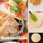 Pinnable image 4 for chicken quesadillas
