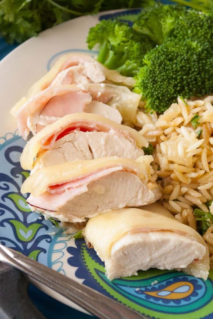 Pinnable image 2 for chicken cordon bleu
