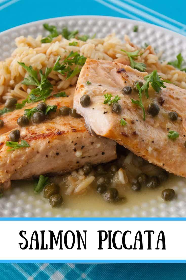 Salmon Piccata pin3