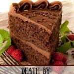 Death by Chocolate Cake pin1