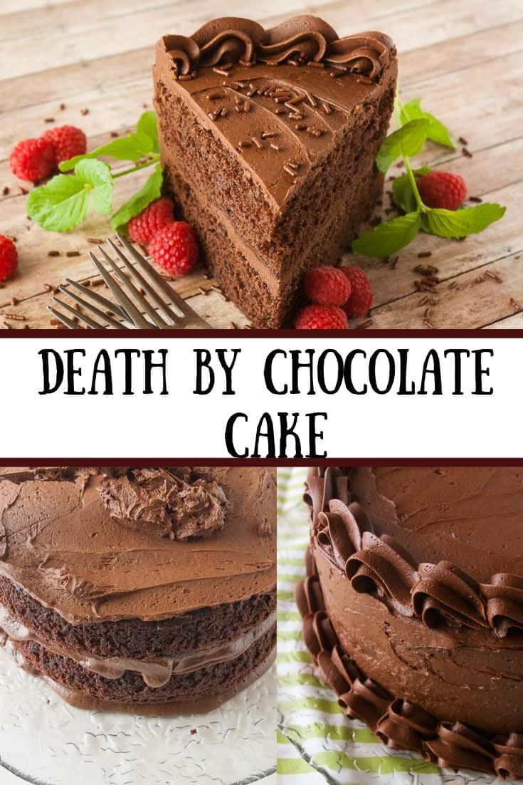Death by Chocolate Cake pin3