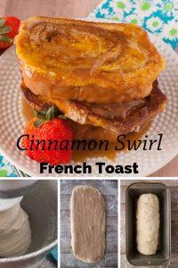 Pinnable image 6 for cinnamon swirl french toast.