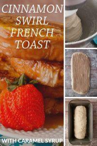 Pinnable image 4 for cinnamon swirl french toast.