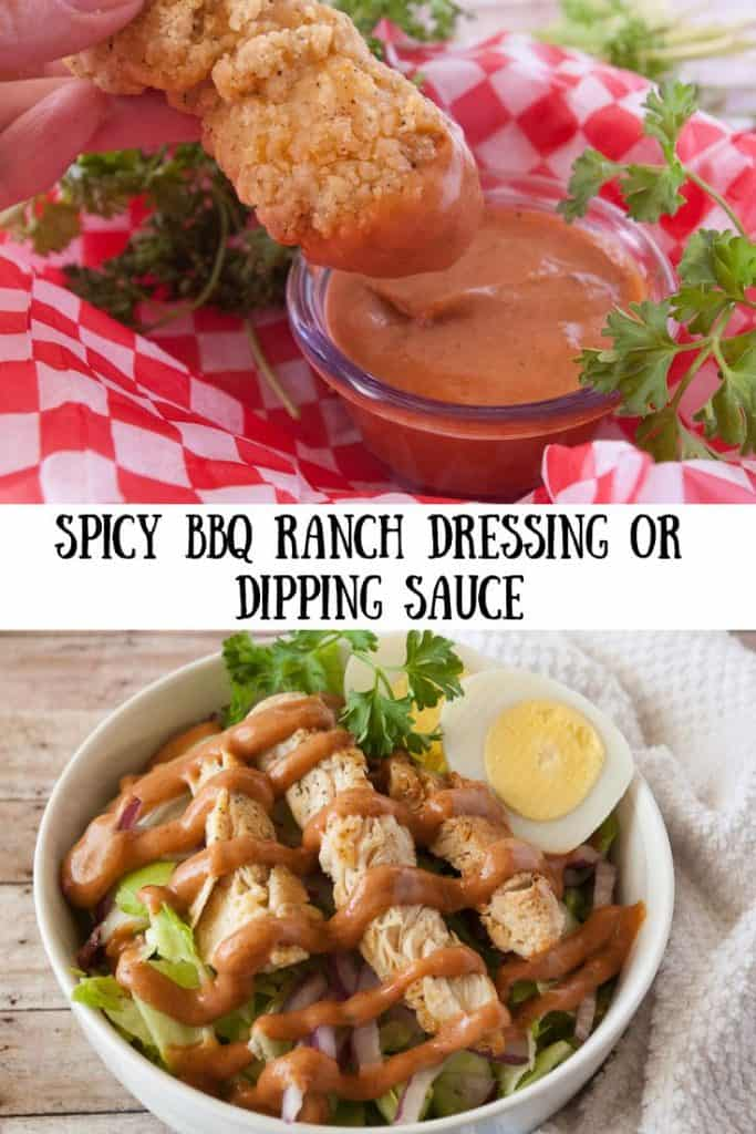 Spicy BBQ Ranch pinnable image 1.