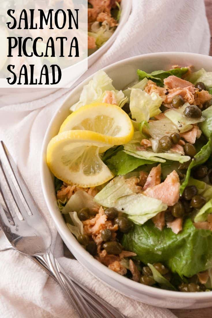 Salmon Piccata Salad pin3