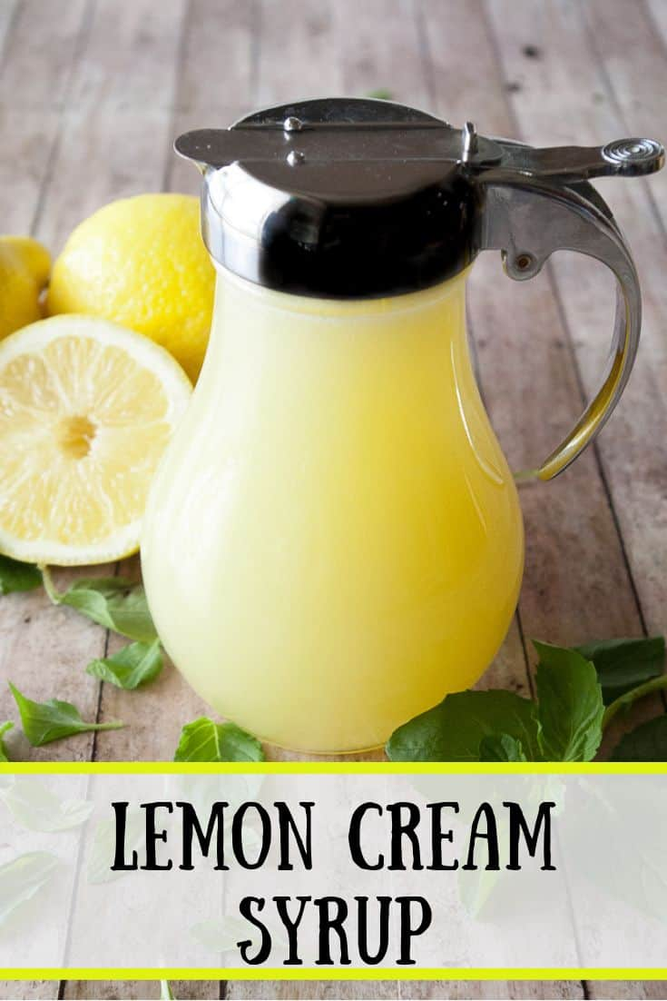 Pinnable image 3 for lemon cream syrup.
