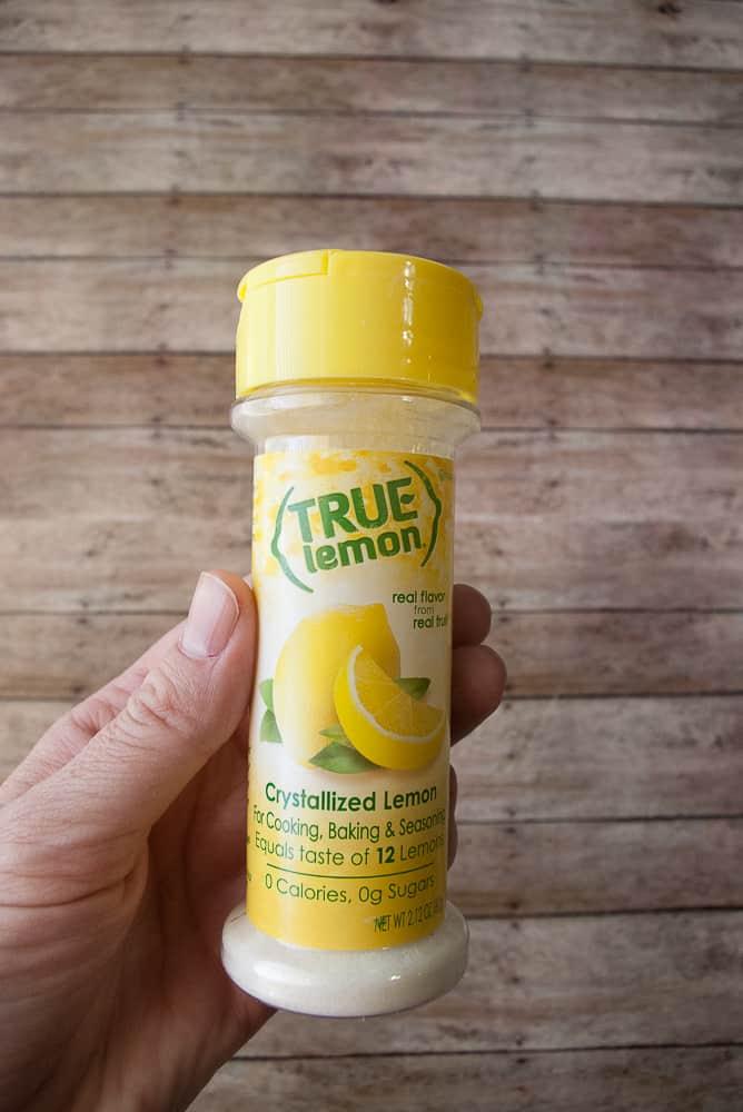 Picture of the True Lemon Crystallized lemon.