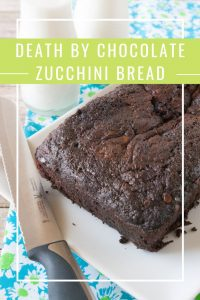 Pinnable image 4 for chocolate zucchini bread
