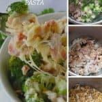 Pinnable image 5 for instant pot broc chicken pasta.
