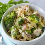 Facebook image for instant pot broc chicken pasta