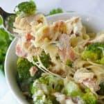 Pinnable image 2 for instant pot broc chicken pasta